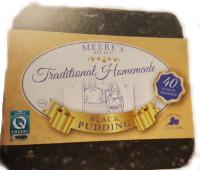 Meeres square black pudding