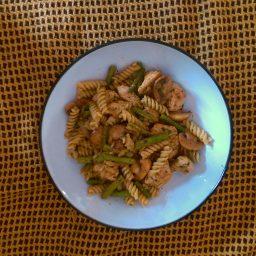 Turkey & Asparagus Pesto Pasta