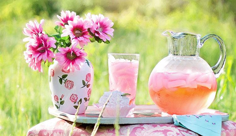Pink Lemonade in the Scarrif community garden.