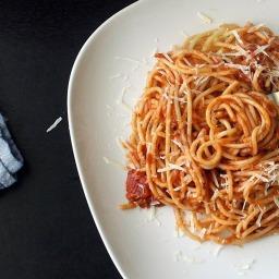 One Pot Chicken & Chorizo Pasta Sauce